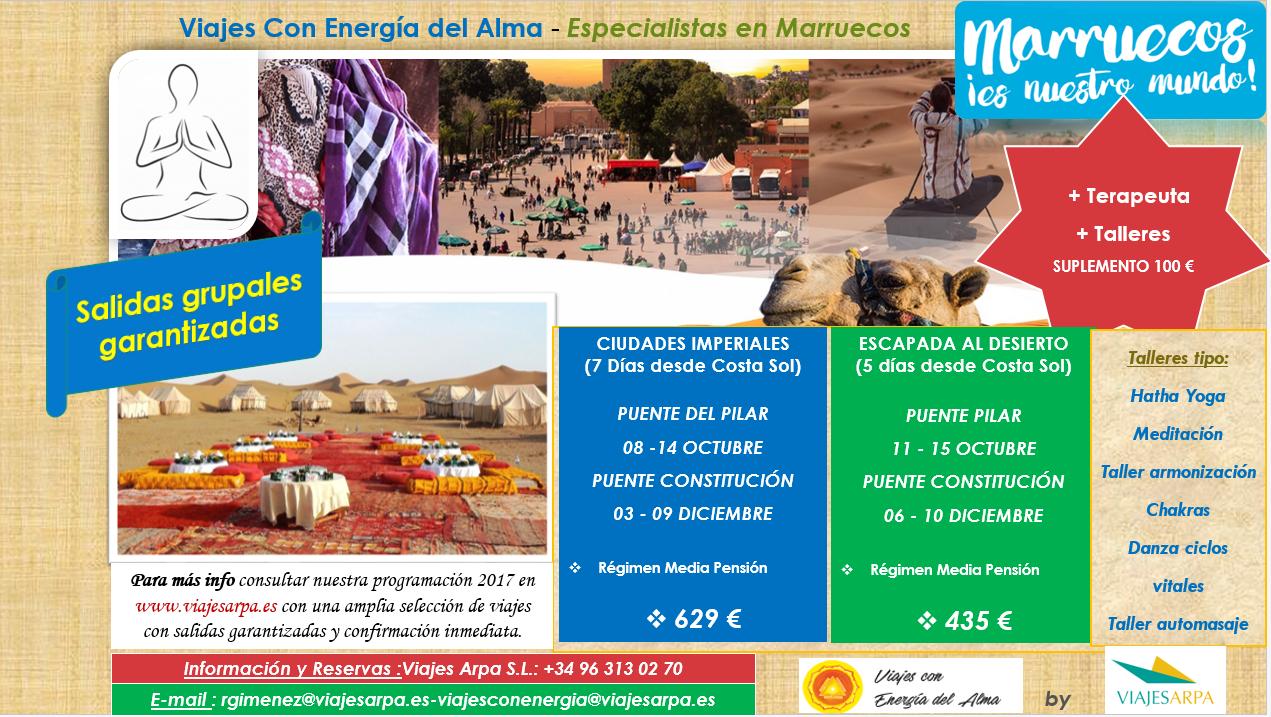 Marruecos -Puentes 2017