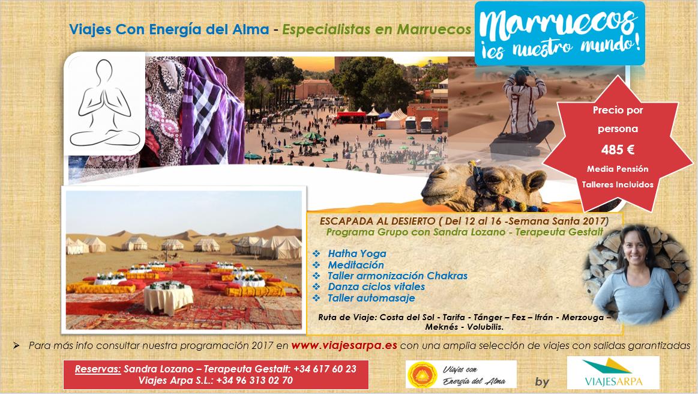 Marruecos semana santa 2017