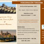 peregrinación teresiana