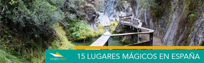 15 lugares mágicos de España